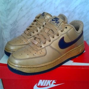 Nike Air force 1 Low Charles Barkley CB 34 gold 7